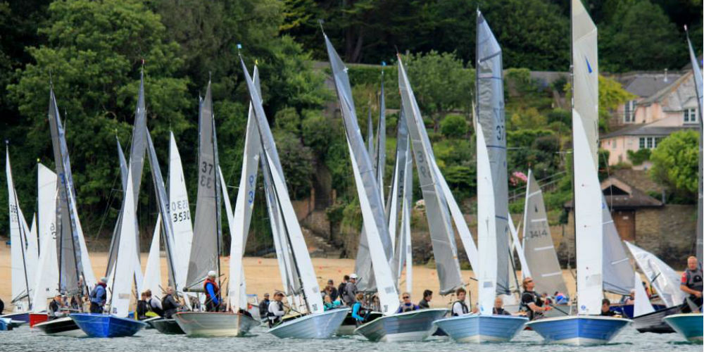 Hampton Sailing Club at Merlin Rocket Week Salcombe