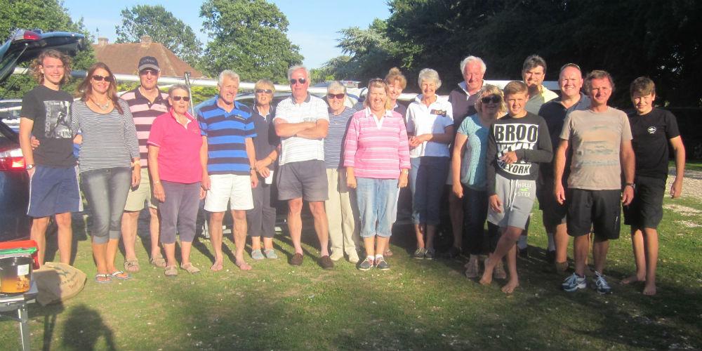 Hampton Sailing Club Chichester Rally Picnic