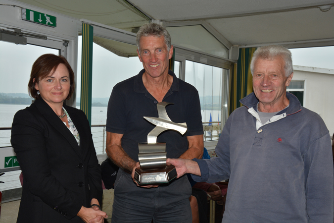 Winners of the Seagull Trophy - David Thompson and Phillip Chambers