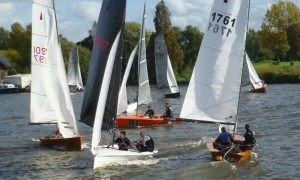 Hampton Sailing Club Merlin Open 2014