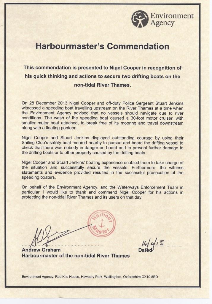 EA commendation 1
